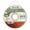 Rattail Cord 1.5mm 20 Yds With Re-useable Bobbin Copper